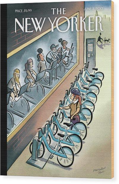 New Yorker June 3, 2013 Wood Print