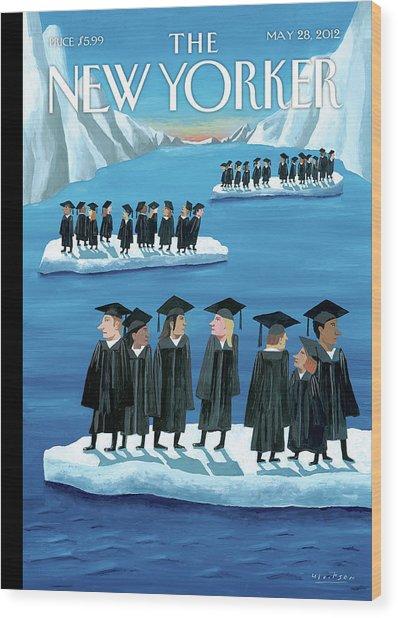 New Yorker May 28th, 2012 Wood Print
