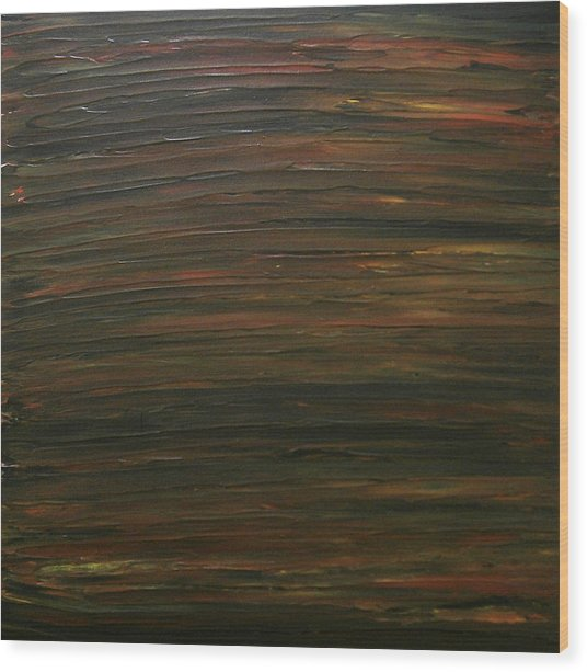 Untitled Painting 21 Wood Print by Drew Shourd