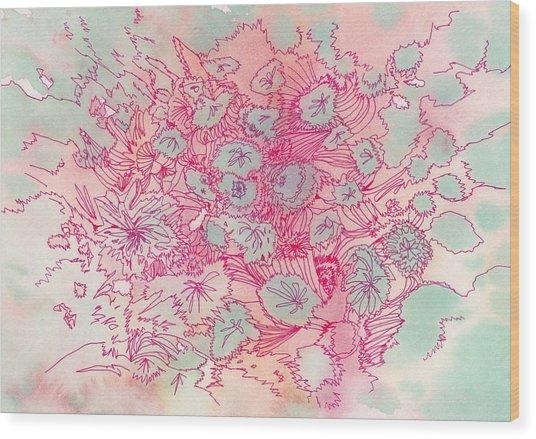 Untitled - #ss13dw040 Wood Print by Satomi Sugimoto