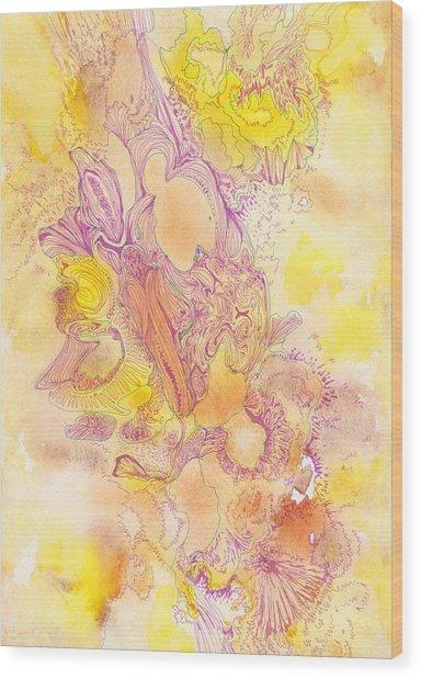 Untitled - #ss13dw041 Wood Print by Satomi Sugimoto