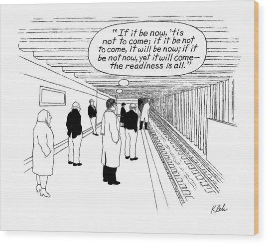 New Yorker May 29th, 2000 Wood Print
