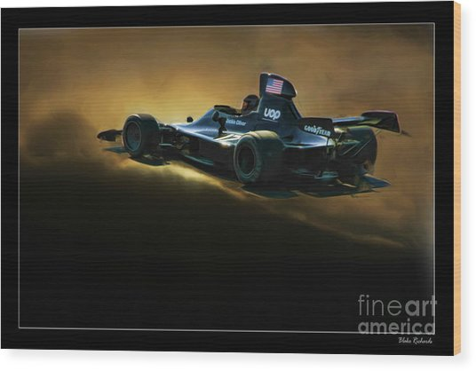 Uop Shadow F1 Car Wood Print