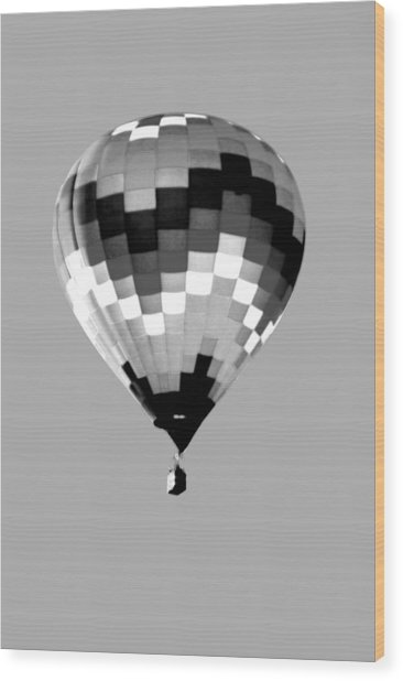 Up Up And Away In Infra Red Wood Print