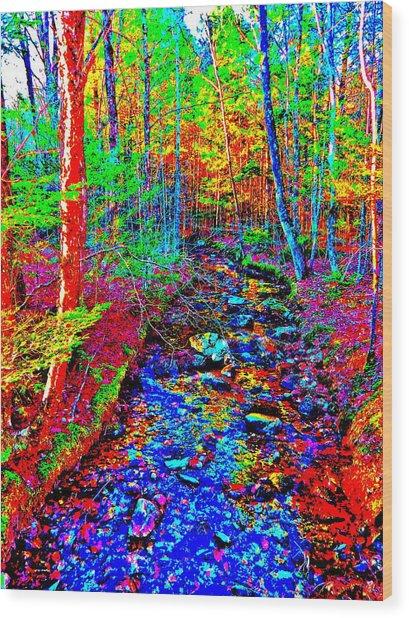 Upland Trail 2014 221 Wood Print