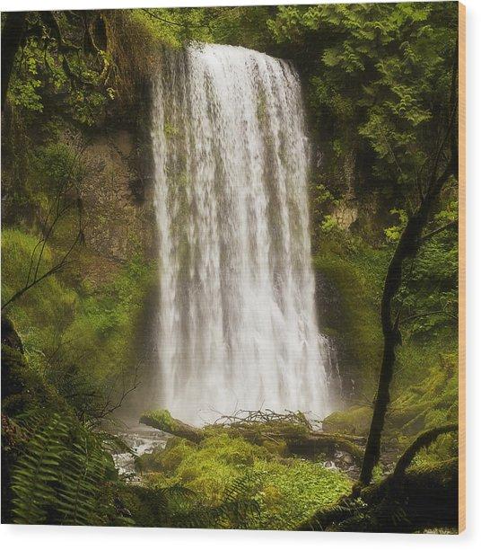 Upper Bridal Veil Falls 2 Wood Print