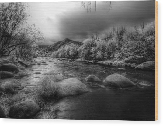 Upper Kern River Wood Print