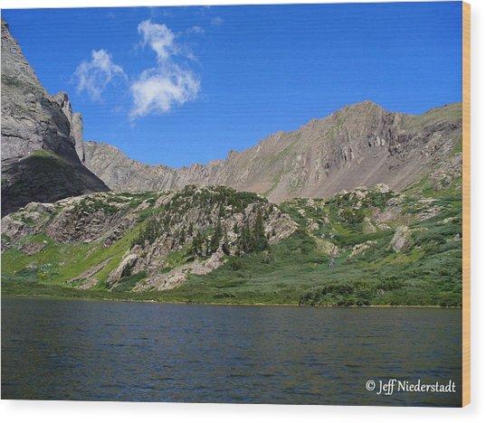 Upper Lake Wood Print