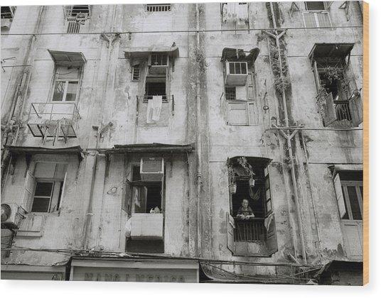 Urban Bombay Wood Print
