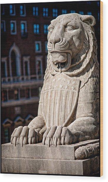 Urban King Wood Print