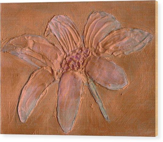Urban Rose Wood Print