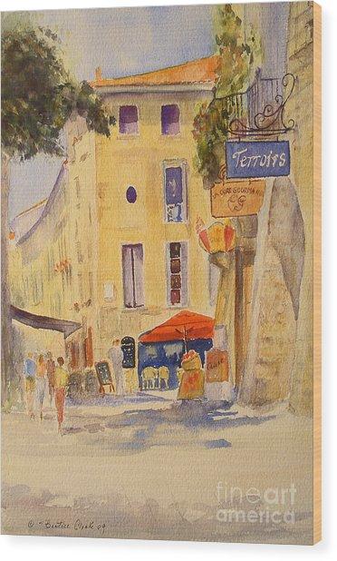 Uzes France Wood Print