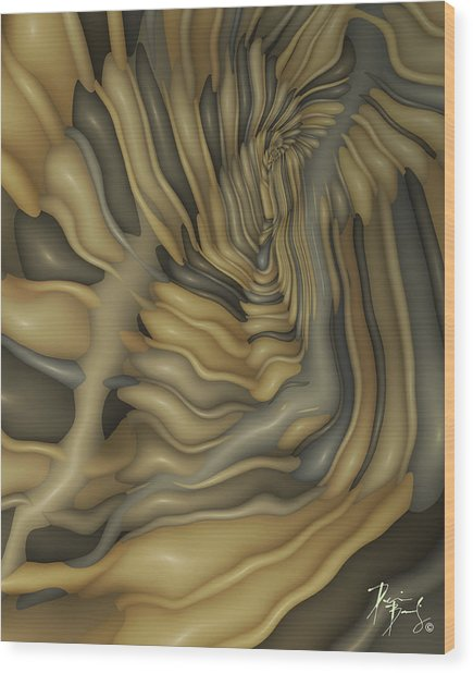 V-02 Wood Print