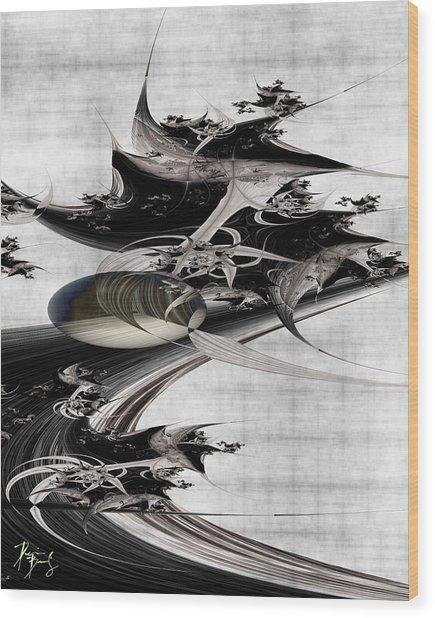 V-41 Wood Print
