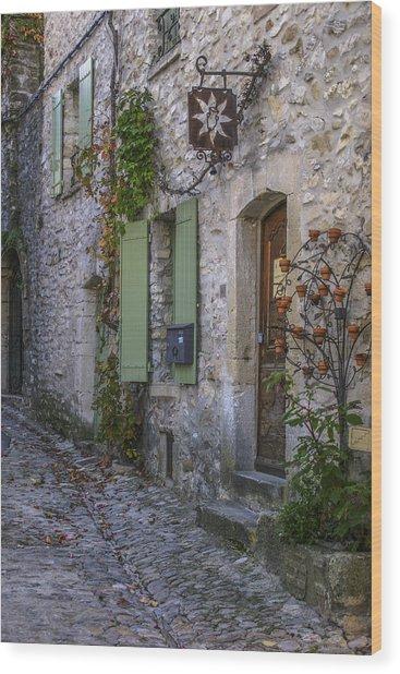 Vaison La Romaine Wood Print