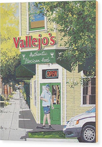 Vallejo's Wood Print by Paul Guyer