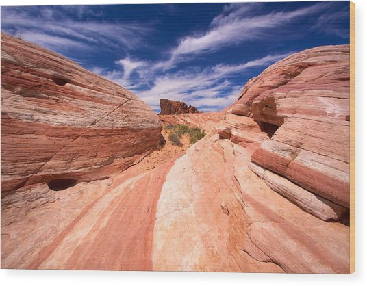 Valley Of Fire 2 Wood Print
