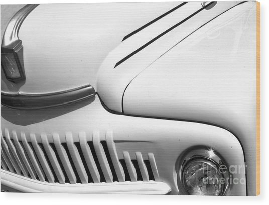 Wood Print featuring the photograph Van Abstract by Mae Wertz