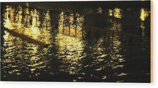 Van Go Nights Wood Print by Scott Ware