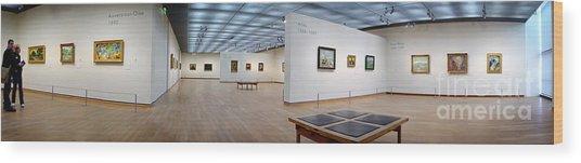 Van Gogh Museum Wood Print