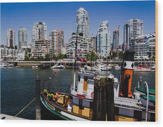 Vancouver Views Wood Print