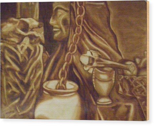 Vanita Wood Print