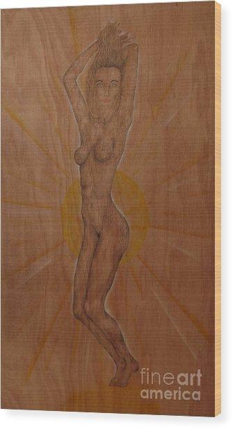 Vanity Wood Print