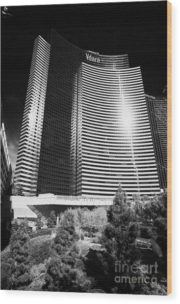 vdara condo hotel and spa Las Vegas Nevada USA Wood Print