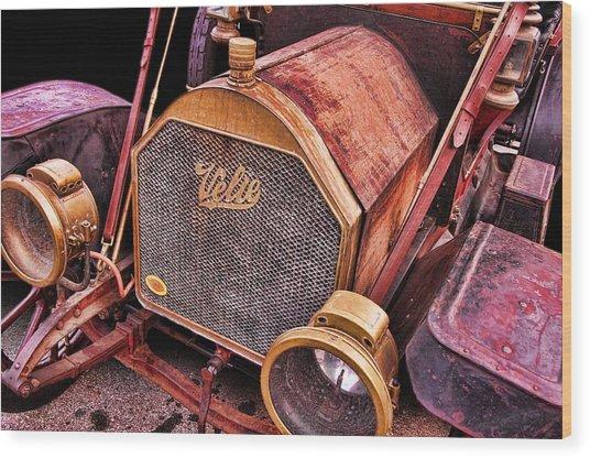 Velie Wood Print by Norm Hoekstra