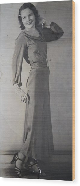 Velma Zerline Russell Wood Print