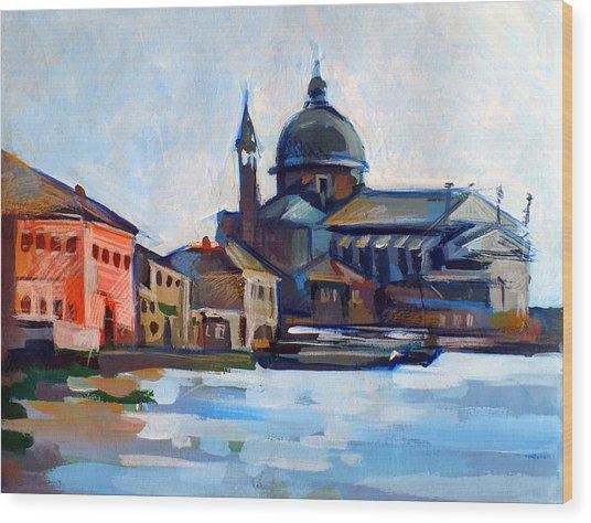 Venetian Shoreline Wood Print by Filip Mihail