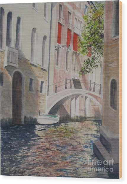 Venice 2000 Wood Print