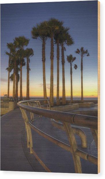 Venice Beach Wood Print