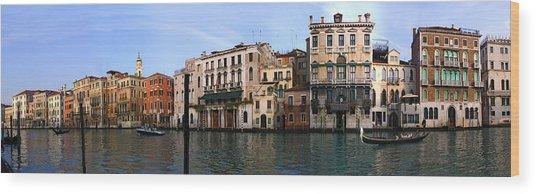 Venice Wood Print by Gary Lobdell