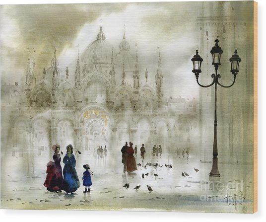 Venice IIi Wood Print by Svetlana and Sabir Gadghievs