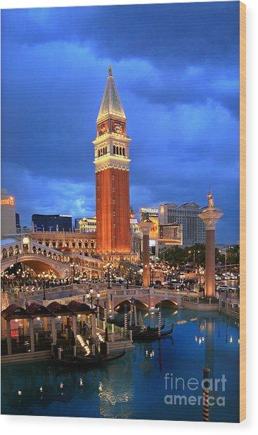 Venice Las Vegas Wood Print