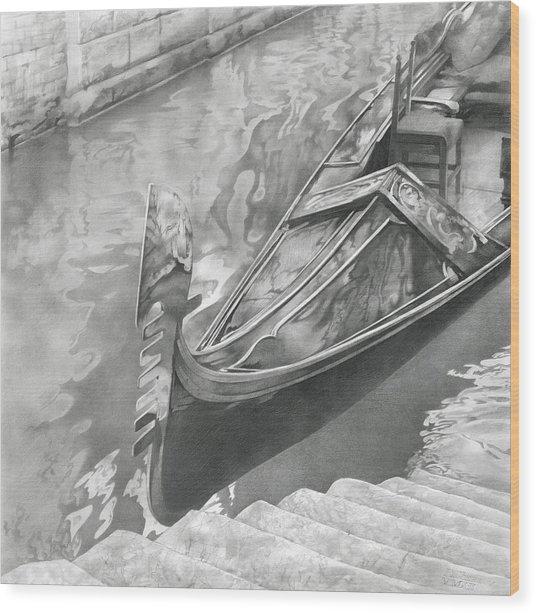 Venice Mmxii-i  Wood Print