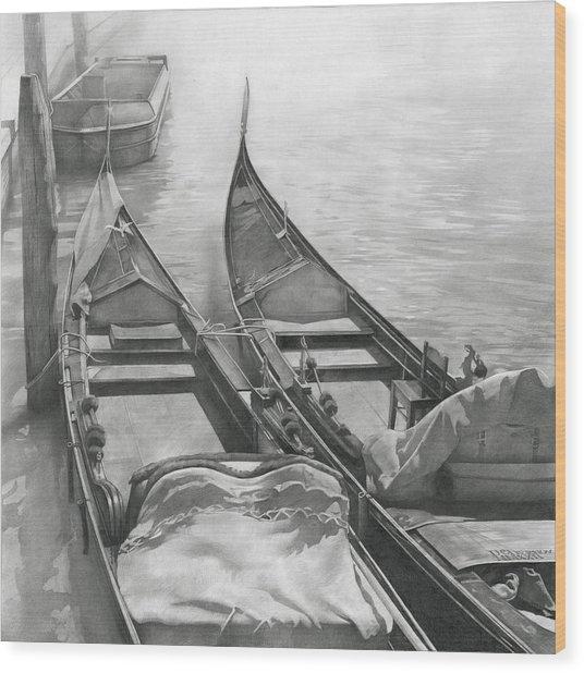 Venice Mmxii-ii  Wood Print