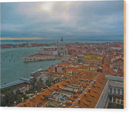 Venice Overlook Wood Print