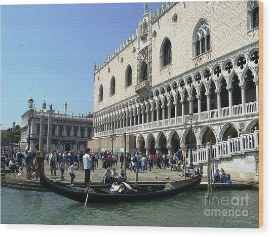 Venice Palazzo Ducale Wood Print