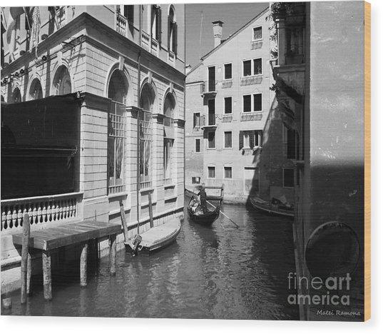 Venice Series 5 Wood Print