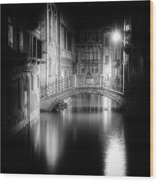 Venice Wood Print by Tanja Ghirardini