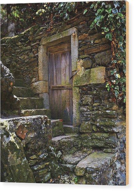 Vernassa Stone Stairway Wood Print