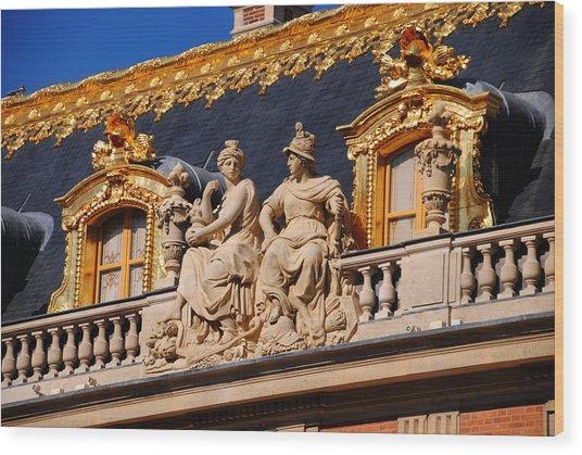 Versailles - Detail Wood Print by Jacqueline M Lewis