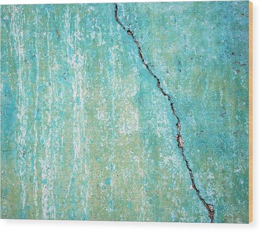 Vertical Fissure Wood Print
