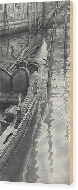 Vertical Venice IIi Mmxi Wood Print