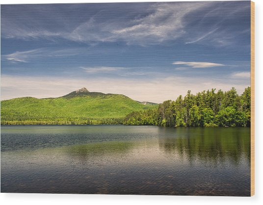 Vibrant Chocorua Wood Print