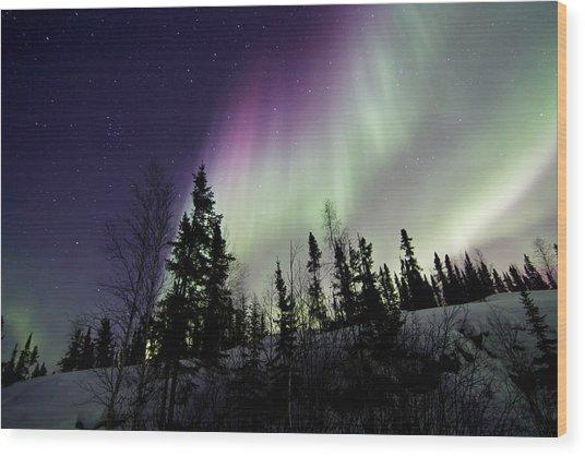 Vibrant Sky Wood Print