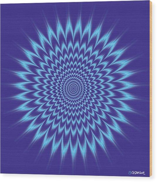 Vibrating Colors Wood Print