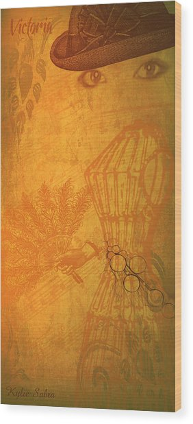 Victoria Wood Print
